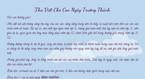Bức thư xúc động của cô giáo gửi học trò trong lễ trưởng thành