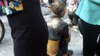 Tưới xăng lên người, cụ ông tự thiêu giữa phố Hà Nội
