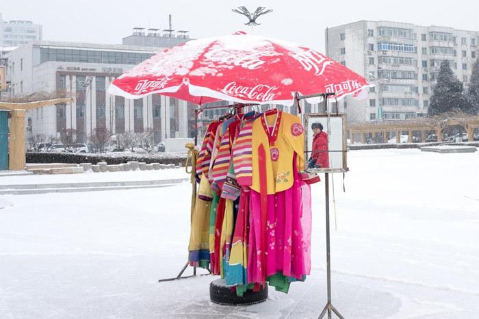 Cảnh đời thường ít người biết ở vùng biên Trung-Triều