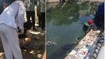Hà Nội: Cô gái trẻ nhảy xuống sông tự tử giữa trưa