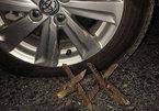 """Quảng Ninh: Nhiều ô tô dính bẫy """"chông sắt"""" rơi vào tình huống nguy hiểm"""