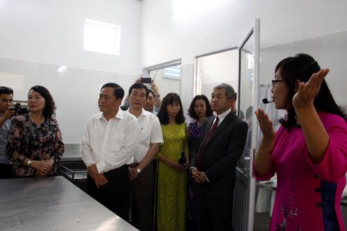 Khánh thành bếp ăn hơn 2 tỉ đồng tại Lạng Sơn