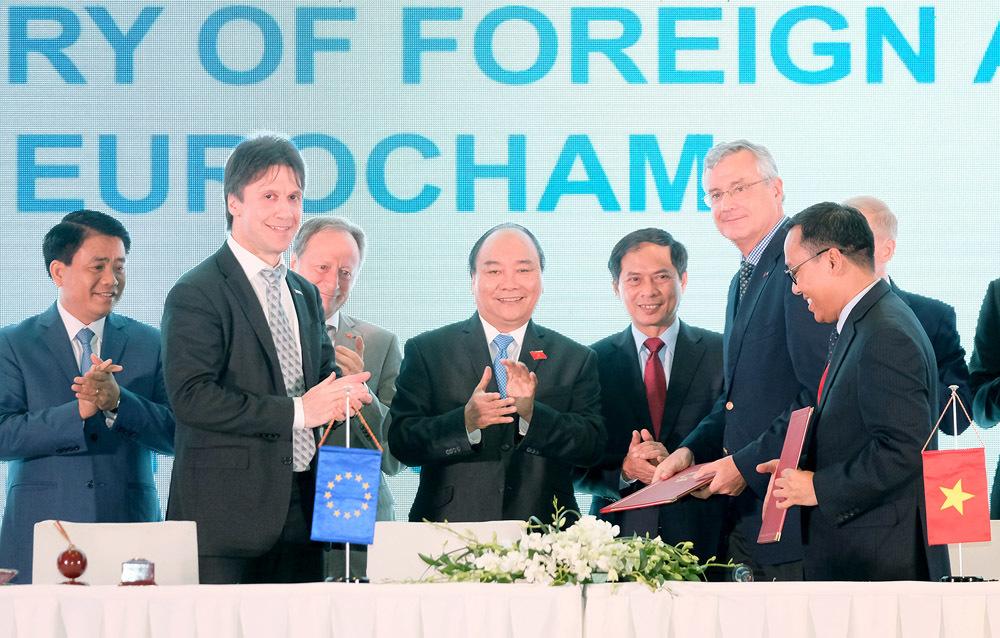 Thủ tướng: VN phải trở thành điểm đến hấp dẫn cho tất cả doanh nghiệp châu Âu