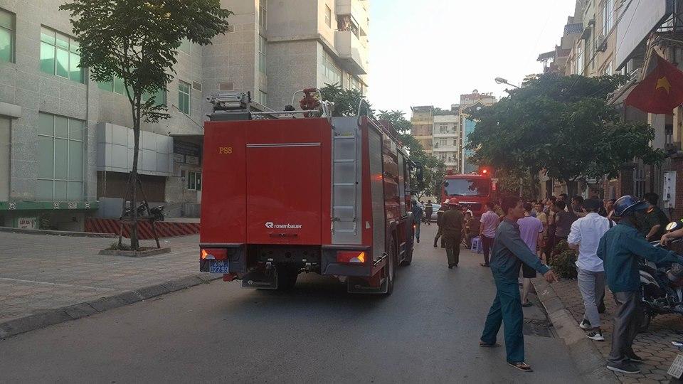 Hà Nội: Cháy tầng 18 chung cư Bắc Hà