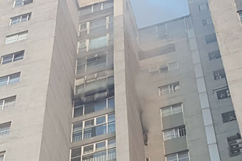 Cháy tòa nhà Bắc Hà