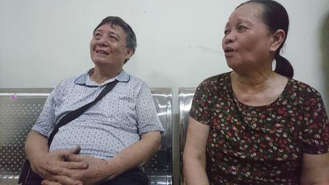 Cặp vợ chồng mắc kẹt trong đám cháy chung cư Bắc Hà