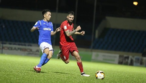Than Quảng Ninh 1-0 TP.HCM