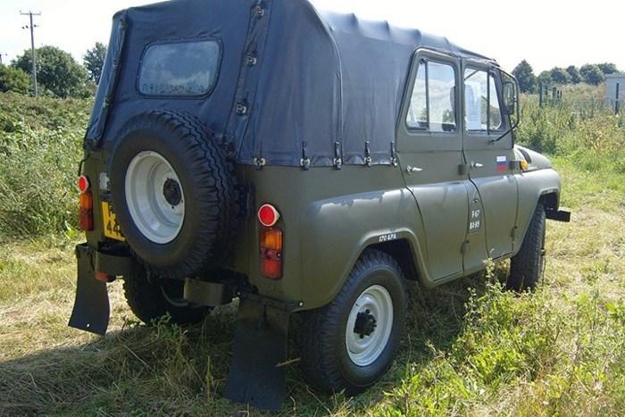 Sức sống của xe quân sự UAZ 'thần thánh'