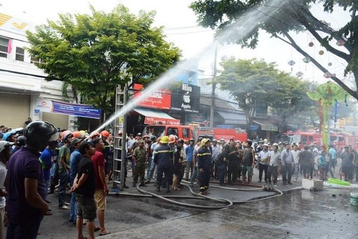 cháy lớn,Quảng Nam,cháy,hỏa hoạn