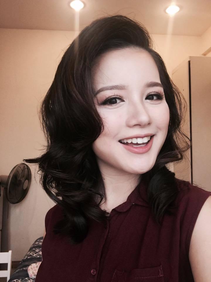 MC Minh Trang,VTV,truyền hình