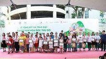 Hà Nội vinh danh 28 Đại sứ văn hoá đọc