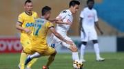 Hà Nội FC 0-0 FLC Thanh Hóa: Bùi Tiến Dũng dự bị (H1)