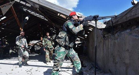 Syria tấn công IS bằng Golan-1000