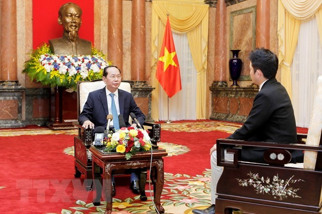 Chủ tịch nước trả lời phỏng vấn báo chí Nhật Bản