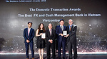 Vietcombank nhận giải kép từ The Asian Banker