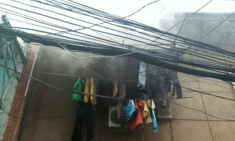 cháy chung cư,cháy nhà,hỏa hoạn