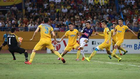 Hà Nội 2-1 Thanh Hóa: Văn Kiên nâng tỷ số lên 2-1
