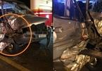 Đèo Hải Vân: Đâm xe tải, xe khách nát bét đầu
