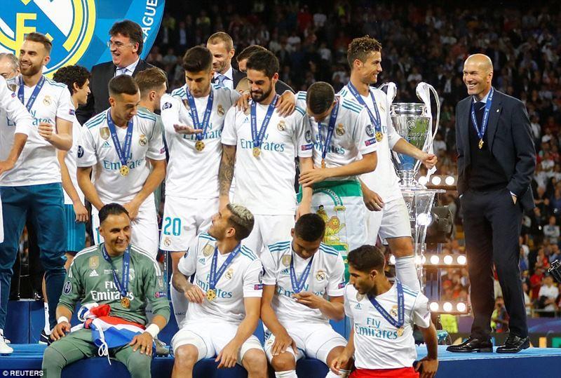 Real Madrid,Liverpool,Salah,Ronaldo