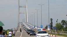 Khánh thành cầu Cao Lãnh, cầu lớn thứ 3 vượt sông Tiền
