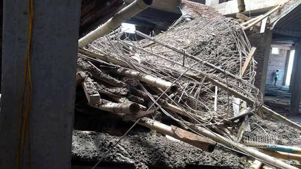 tai nạn lao động,sập giàn giáo,Nam Định