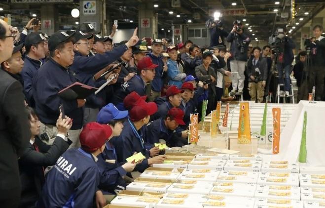 Cặp dưa có giá gần 700 triệu tại Nhật Bản