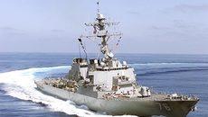 Mỹ cho tàu chiến tuần tra bên trong vùng biển 12 hải lý gần Hoàng Sa