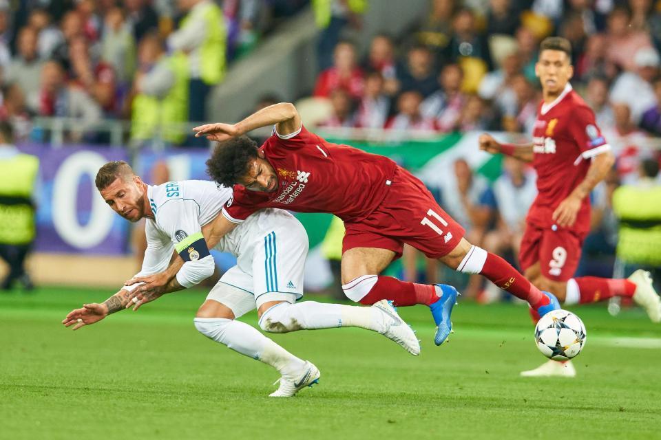Salah,Liverpool,Ramos,Real Madrid