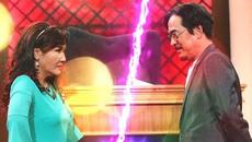 """Ngân Quỳnh """"kiện"""" chồng tội mê giày hơn mê vợ"""