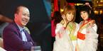Nghệ sĩ hài Đức Hải kết hợp với 2 ảo thuật gia Nhật Bản