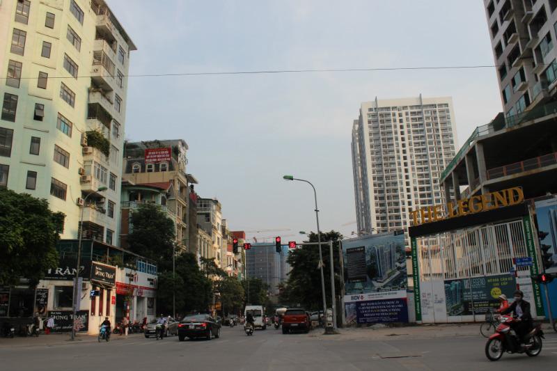 quá tải hạ tầng,nhà cao tầng nội đô,nhà đất sau di dời,ùn tắc giao thông