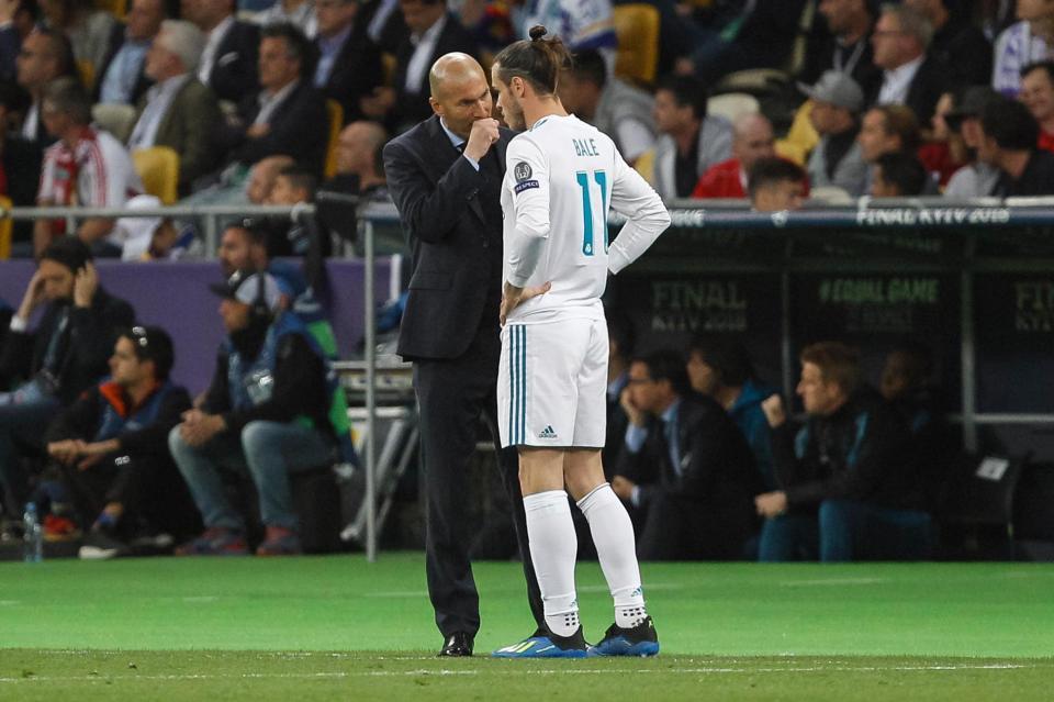 MU,Real Madrid,Bale,Gareth Bale,Zidane
