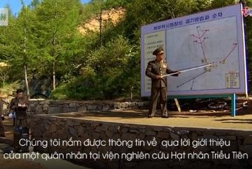 Hành trình của nhà báo đến Triều Tiên đưa tin bãi thử hạt nhân