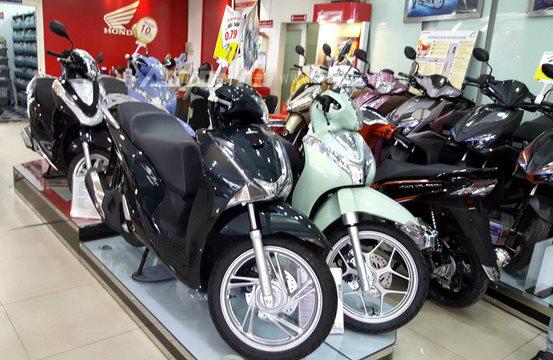 Xe tay ga,tăng giá xe tay ga,đại lý xe máy,xe máy,kinh doanh xe máy