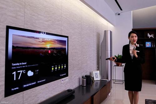 LG - 'trợ thủ' thông minh từ bếp ăn đến phòng khách