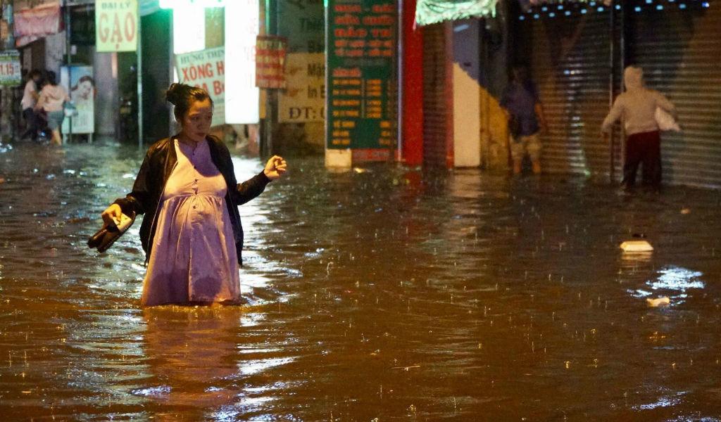 mưa ngập ở Sài Gòn,ngập ở Sài Gòn,Sài Gòn,ngập nước,mưa lớn