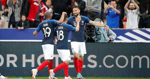 Video Pháp 2-0 Ireland