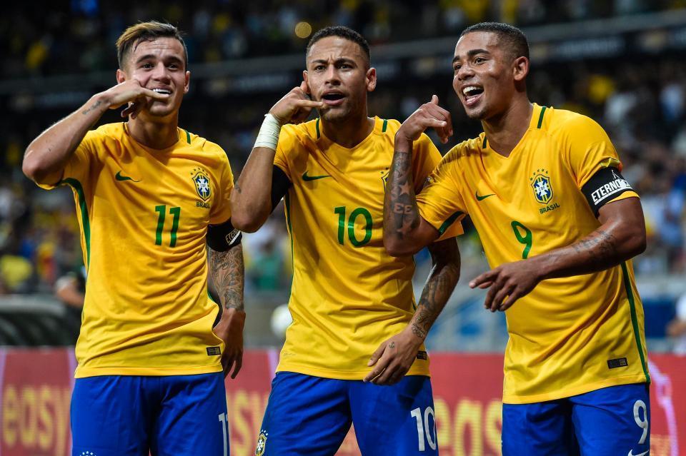 Hé lộ tiền thưởng 'khủng' nếu Brazil vô địch World Cup 2018