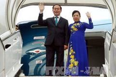 Chủ tịch nước và phu nhân rời Hà Nội thăm cấp nhà nước tới Nhật Bản