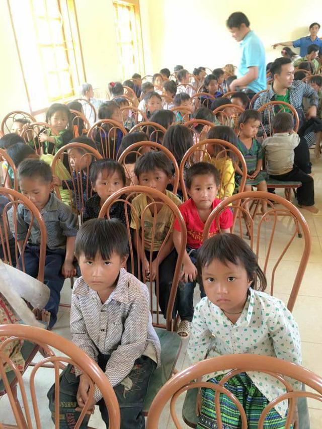 Trẻ em vùng cao,Từ thiện