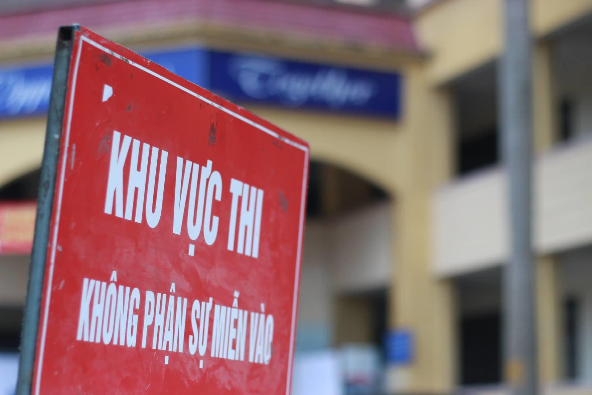 Trường đầu tiên ở Hà Nội tổ chức thi vào lớp 10