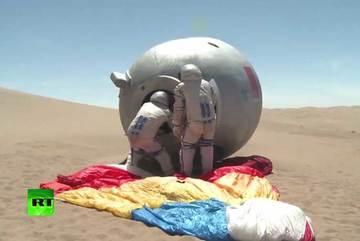 Xem phi hành gia TQ  huấn luyện khắc nghiệt