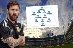 Argentina đá giao hữu, Messi tranh HLV xếp đội hình