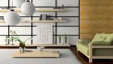 """""""Nhân đôi"""" diện tích phòng khách với bí quyết đơn giản của người Nhật"""