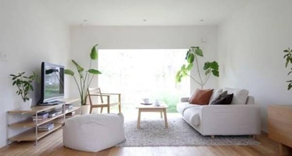 'Nhân đôi' diện tích phòng khách với bí quyết đơn giản của người Nhật