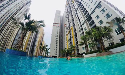 Seasons Avenue khai trương bể bơi vô cực phong cách Singapore