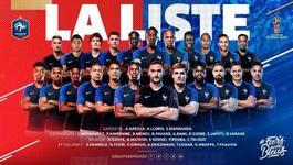 Lịch thi đấu của ĐT Pháp tại World Cup 2018