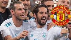 "MU lấy Bale lẫn Isco, Real nổ ""bom tấn"" tặng Zidane"