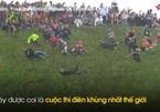 Người lăn lông lốc trong cuộc thi 'điên' nhất thế giới