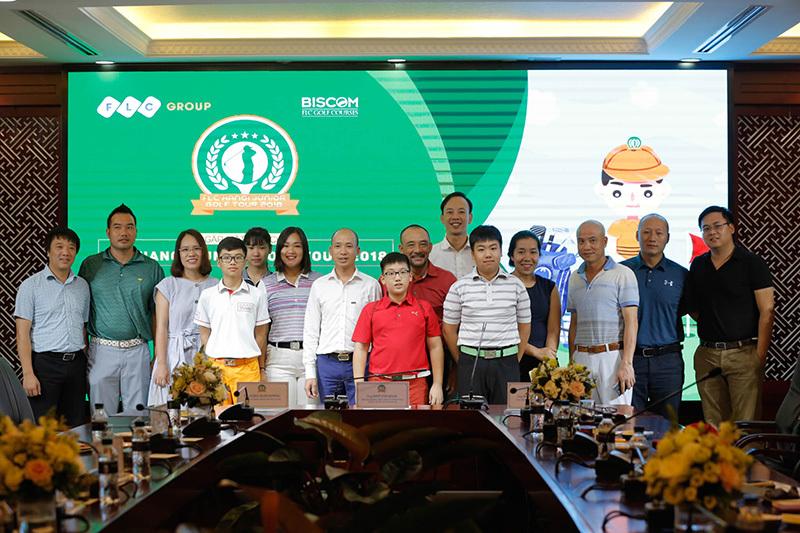 50 golfer nhí dự giải FLC Hà Nội junior golf tour 2018